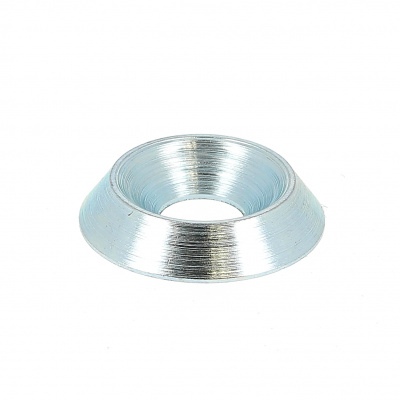 Kraalring vol Blank verzinkt staal NFE 27619
