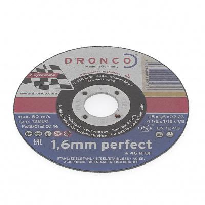 DISQUE A TRONCONNER PLAT 115X1.6X22.2 A46R PERFECT 1110-250.100