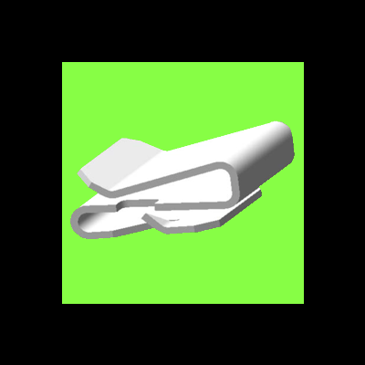 Clip Simple S - S Clip Single