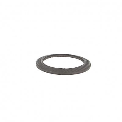 Ring Schnorr S Zwart staal
