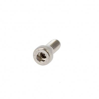 Cilindrische kop binnenzeskant met lage kop RVS A2 Din 6912